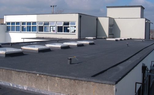 ROOFING PROJECTS USING PLUVITEC PLURA R
