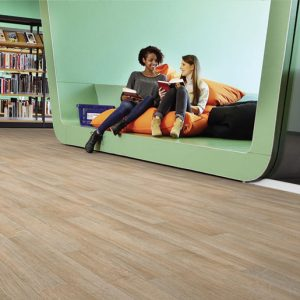 0.7mm PVC wear layer, the Topaz wood and mineral range is a competitively priced compact heterogeneous vinyl floorings with good resistance to indentation and abrasion
