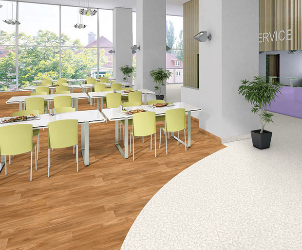 Excellence combination of over 117 colours and wood designs all-inclusive resistance of any heavy traffic