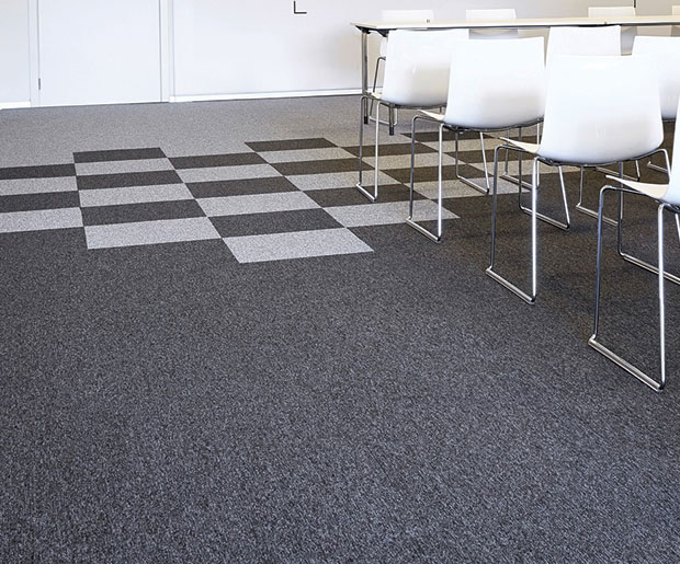 Cobalt is a line of extremely durable, carpet tiles, Incati