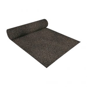 Ideal acoustic underlay under floating screeds, concrete slabs or underneath rigid floor elements on wooden subfloors
