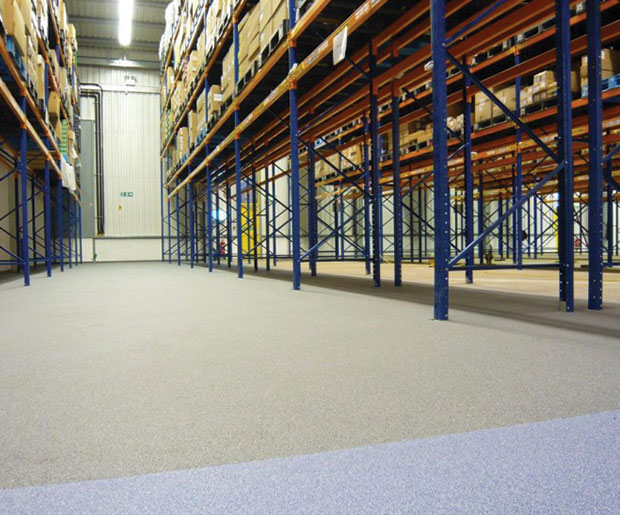 Decora MS is a decorative trowel applied, epoxy resin mortar screed incorporating multi-coloured aggregates
