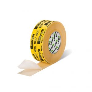 ME317 is a single-sided adhesive reinforced paper tape designed for the airtight bonding of overlaps in illbruck vapour barrier and membranes