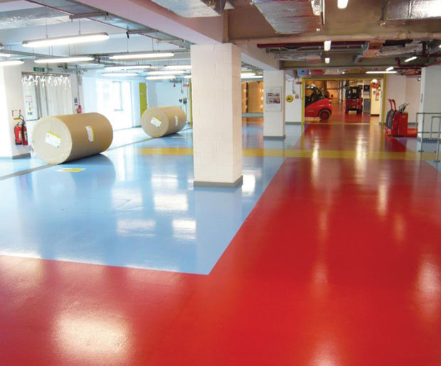 Heavy Duty Epoxy Flooring Services : Rsl resucoat hb epoxy resin coating laydex surfaces