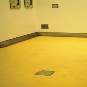 Resuthane™ T100, polyurethane coating, provides a seamless wall and floor systems, RSL