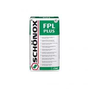 Schonox FPL Plus is a Cement based self-levelling compound for use from 3 to 60 mm