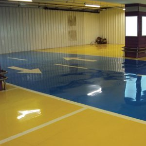 Dexcoat is a two component solvent-free high-build epoxy resin system designed for use as a heavy duty floor coating or self smoothing topping.