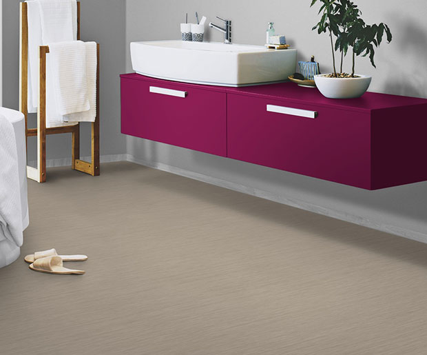 Multisafe Aqua for wetroom applications with its 12 highly decorative printed designs are an anti-slip flooring solution
