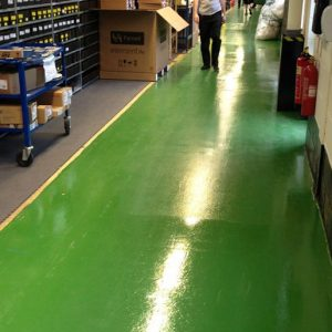 Resudeck is a two-pack, high build, hard wearing polyurethane floor coating which forms a tough and durable finish