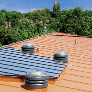 Permanent and flexible they follow the contour of the roof offering an eye-catching appearance and assisting drainage flow when required.