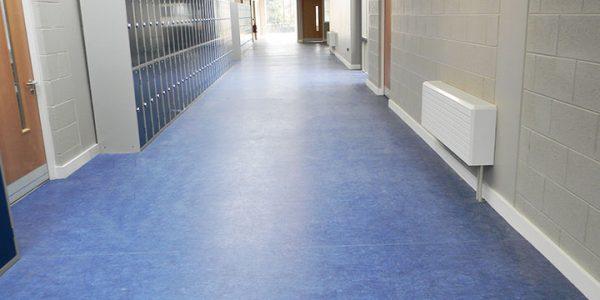 Flooring Case Study Saint Mary S Secondary School