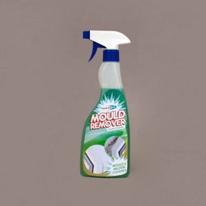 wash for removing mould, mildew and lichen from walls, roofs, windows, doors and floors of most types