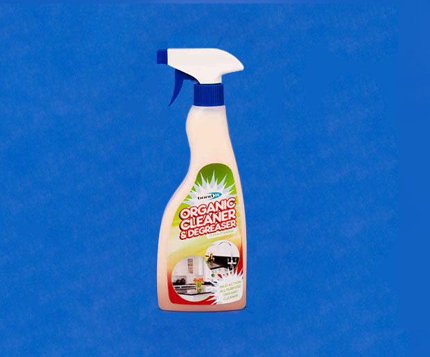 A non-flammable, non-abrasive, user friendly, general purpose cleaner and degreasing agent with citrus aroma.