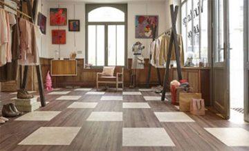 Express yourself with tarkett luxury vinyl tiles laydex discover new patterns with the new modular lvt concept from tarkett tyukafo