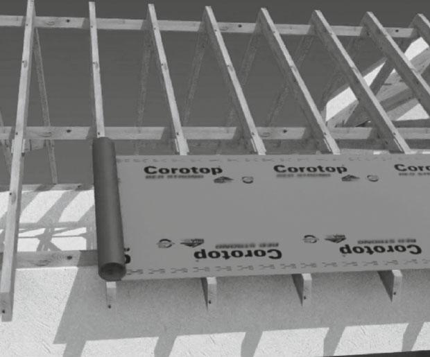 Corotop Grey Breathable Roofing Membrane Laydex Building