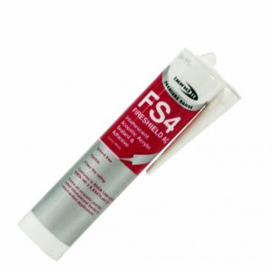 Intumescent acoustic acrylic sealant and adhesive with a decibel rating of 55dBA