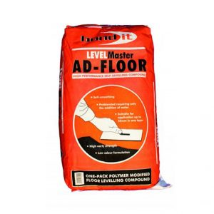 One part, fast setting, flexible latex floor levelling compound.