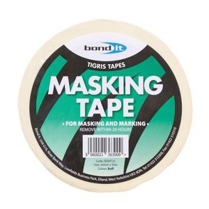 bondit masking tape in white