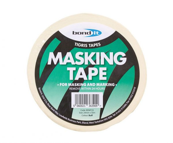 bondit masking tape in white