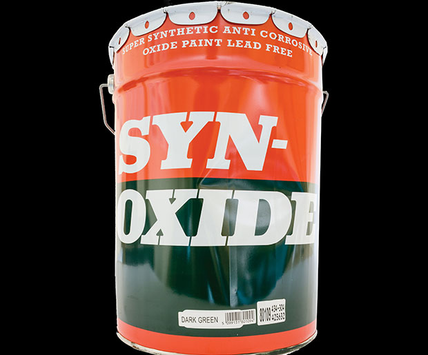 Syn Oxide Paint Use On Both Bare And Galvanised Metal