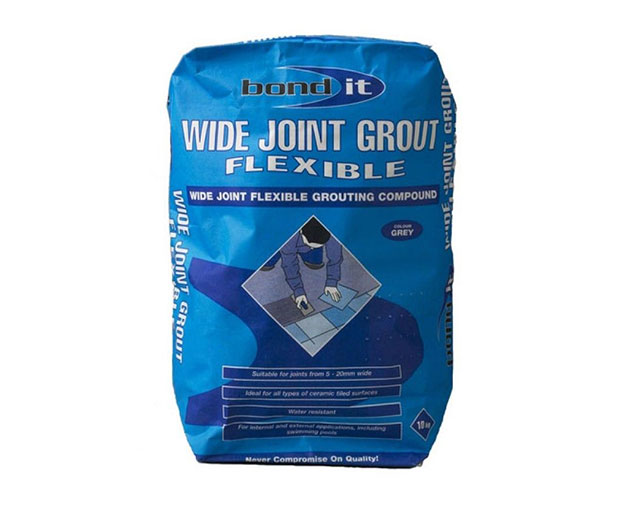 A cement-based, joint filling compound for tile joints from 3mm up to 20mm wide around all types of ceramic floor and wall tiles