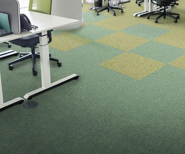 Extremely Durable Flooring : Incati basalt extremely durable carpet tiles laydex