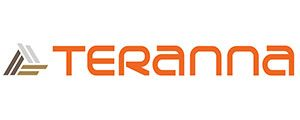 Teranna composite decking logo in orange colour