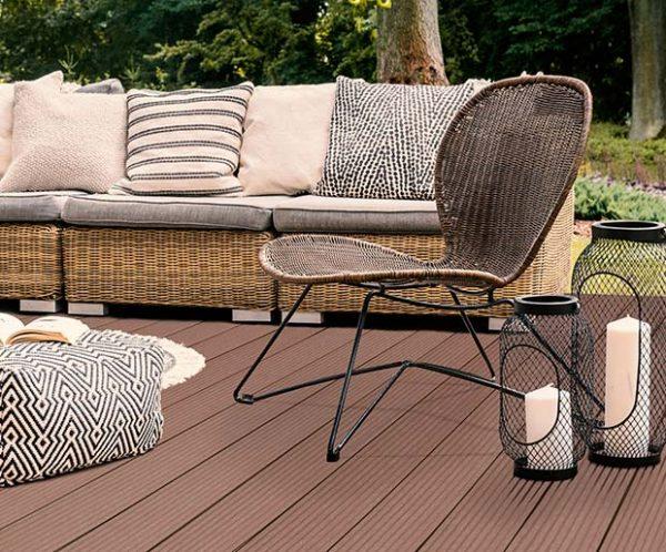 Teranna Decking Ever Deck - Light Brown - Terrace