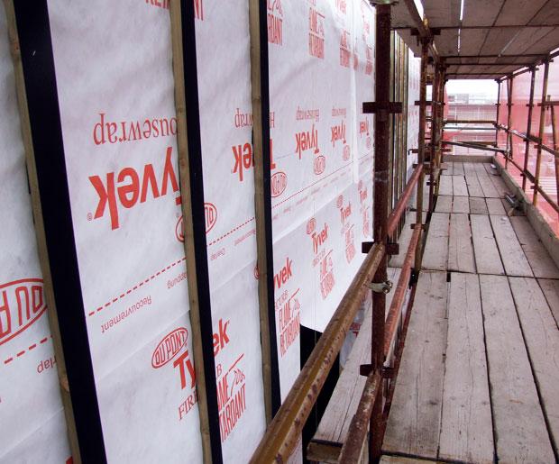 Dupont Tyvek FireCurb HouseWrap - Fire Retardant Membrane