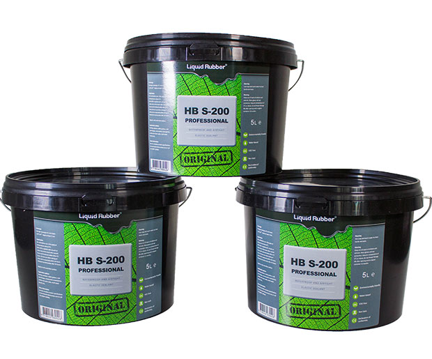 liquid rubber sealant hbs 200, 5kg