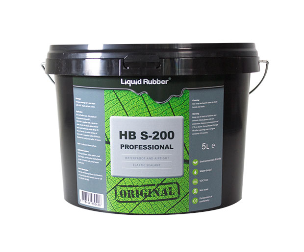 liquid rubber sealant hbs 200
