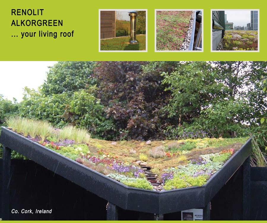 Alkorgreen Green Roof featured in Architecture Ireland Magazine