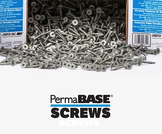PermaBase® Screws
