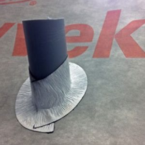 Optimise airtightness and seal awkward areas with new Tyvek® FlexWrap EZ tape