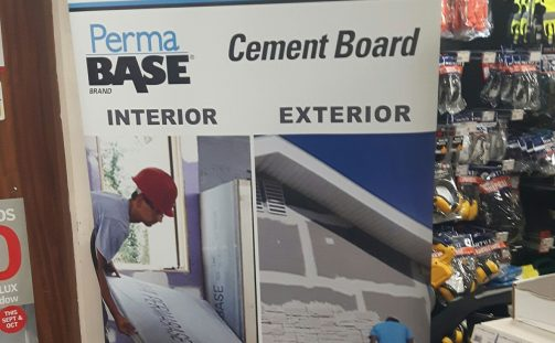 PermaBase Cement Board in Chadwicks Naas today