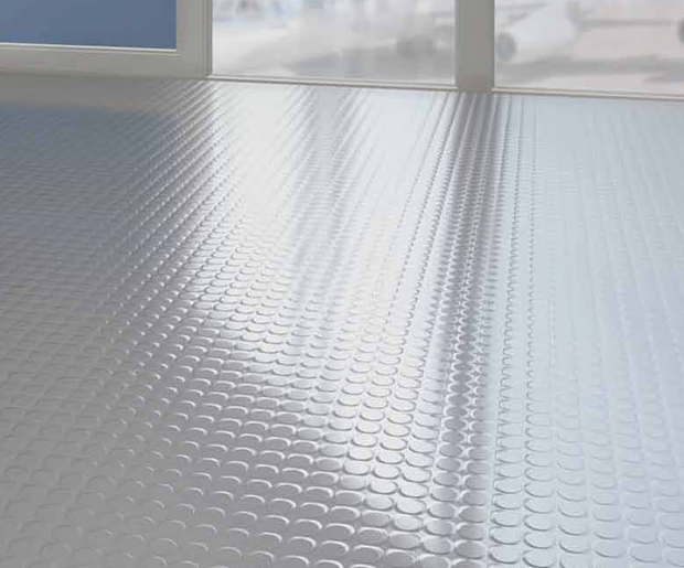 REMP Rubber Flooring Grey