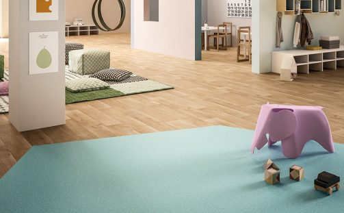 Performance Vinyl Flooring for Education Environments