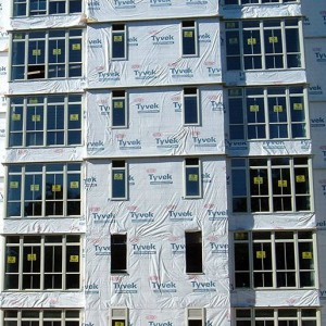 Tyvek SuperGuard house wrap