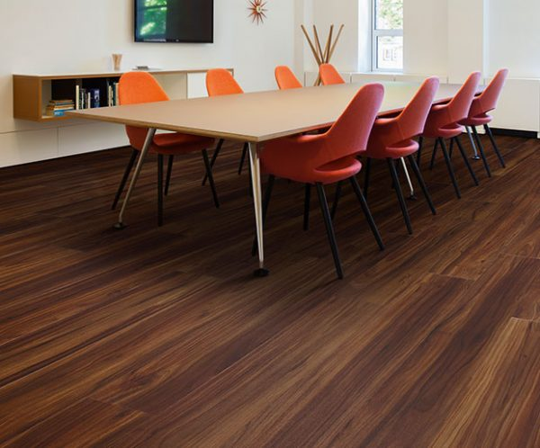 Design Floors Imperial with Wooden Look installed in Board Room