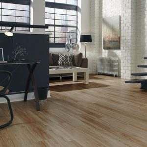 Design Floors ULTIMO Wood Fruitwood with wooden look installed in Living Room