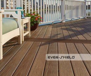 Teranna Ever Shield Composite Decking - Terrace