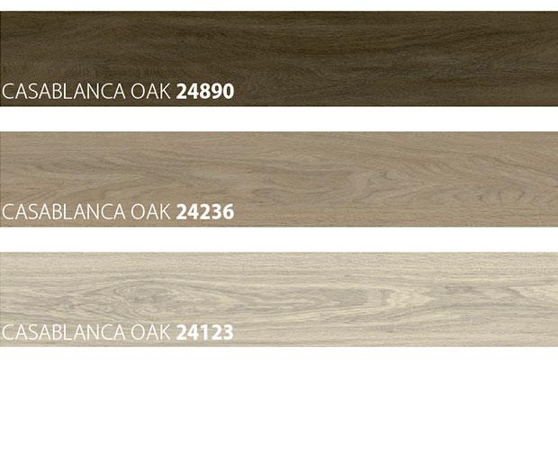 colour samples of wooden look vinyl floor
