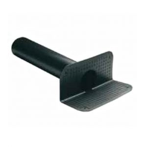 Pluvitec angular roof drain with round exit spigot