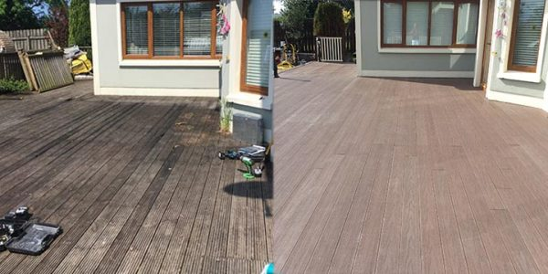 Domestic Decking Project, Co Dublin