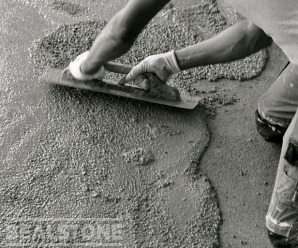 Bealstone Excluisve Terrazzo - Application