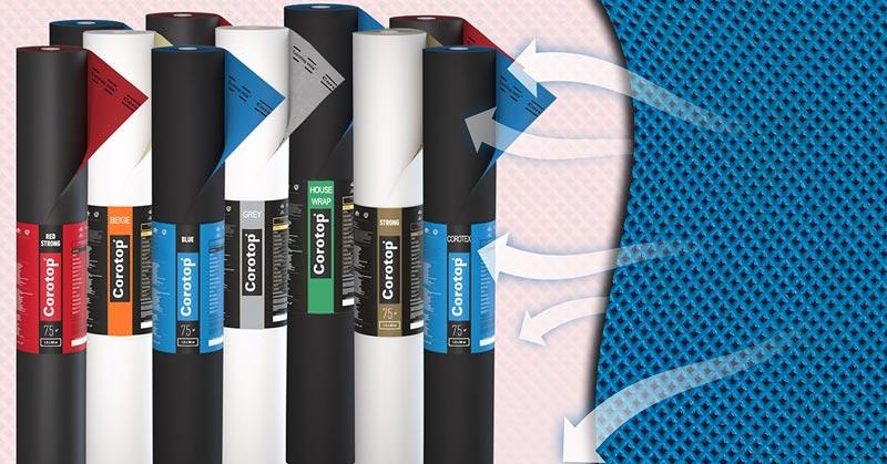 Corotop 174 Breather Membranes More Than Resistance Laydex