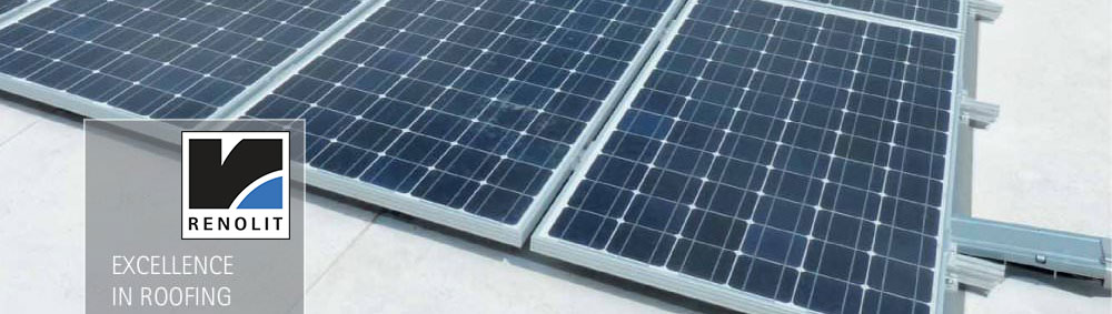 Renolit Alkorsolar Solar Systems Laydex Building Supplies have outlined 3 key reasons why the installation of flat roof solar systems has recently increased in popularity