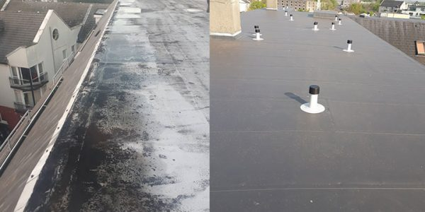 Apartment Block Roof Recovery, Galway