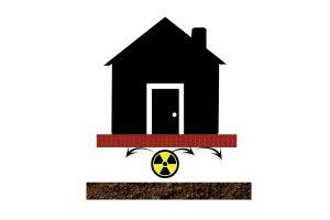 ground gas resistant memtech radon barrier