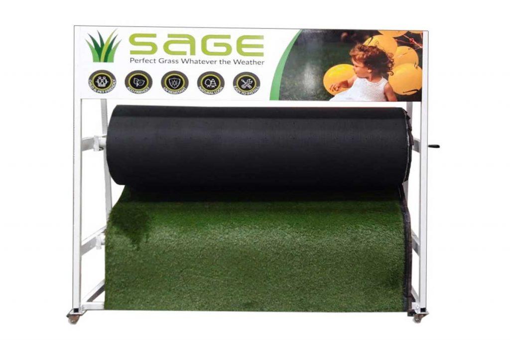 sage artificial grass stand